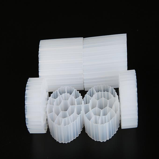 Virgin HDPE MBBR Filter Media K1 φ35*18 Micro Filter For Biological Deodorization Tower