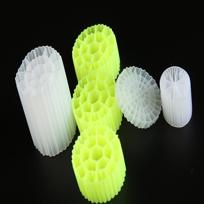 Eco Friendly Biocell Filter Media Any Color Virgin HDPE Material Bio Balls