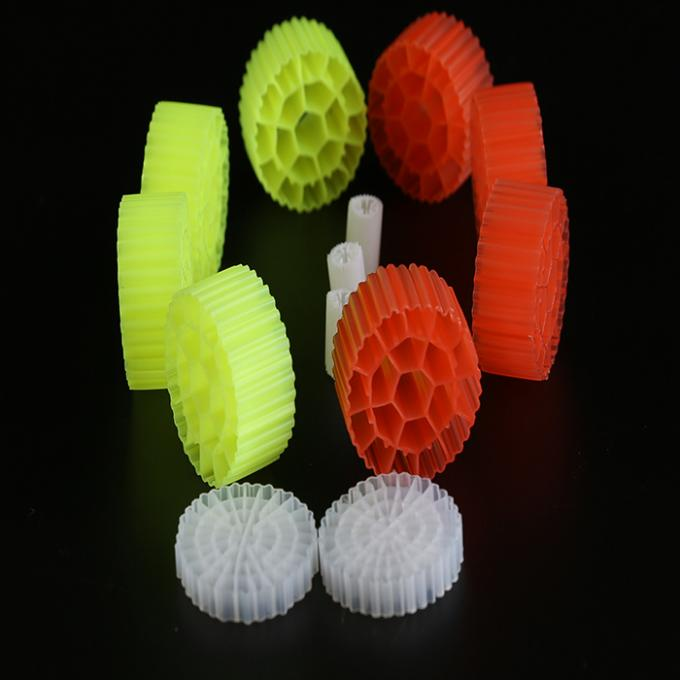 Long Life 19 Holes K1 Filter Media Virgin HDPE Material Bio Balls For RAS And Wastewater