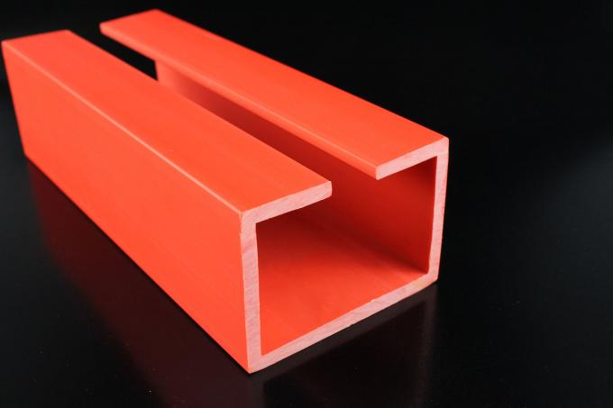 Yellow Upvc Extrusion Profiles PVC Rigid Granules For Construction