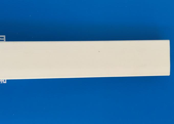 Fireproof White Colour Extruded Pvc Profiles Chamfer Strip