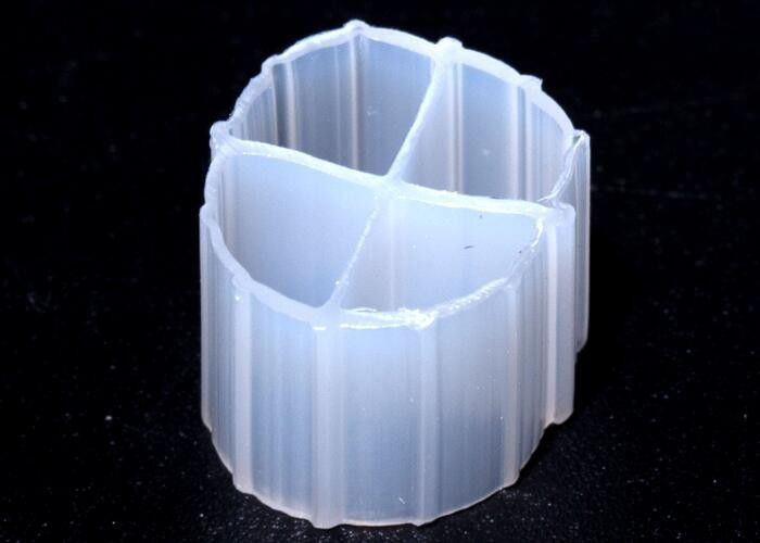 Aquariums White Color Biocell Filter Media Virgin HDPE 12mm X 9mm