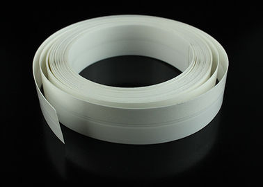 White Color Plastic Extrusion Profiles Self Adhesive Plastic Sealing Strip