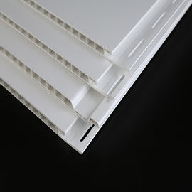 China 16ft White Decorative Plastic Wall Panels UV Resistant For Commercial factory