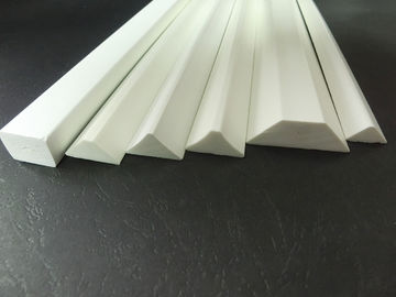 China PVC Material Foam Chamer Plastic Extrusion Profiles Fire Resistant factory