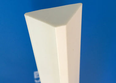 Fireproof White Colour Extruded Pvc Profiles Chamfer Strip 18*18*25mm Plastic Fillet