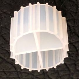White Color MBBR Filter Media With Virgin HDPE Material And Long Life Span For RAS